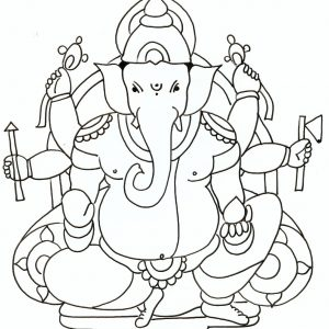 Ganesh Sketch For Kids At Paintingvalley Com Explore Collection Of Ganesh Sketch For Kids