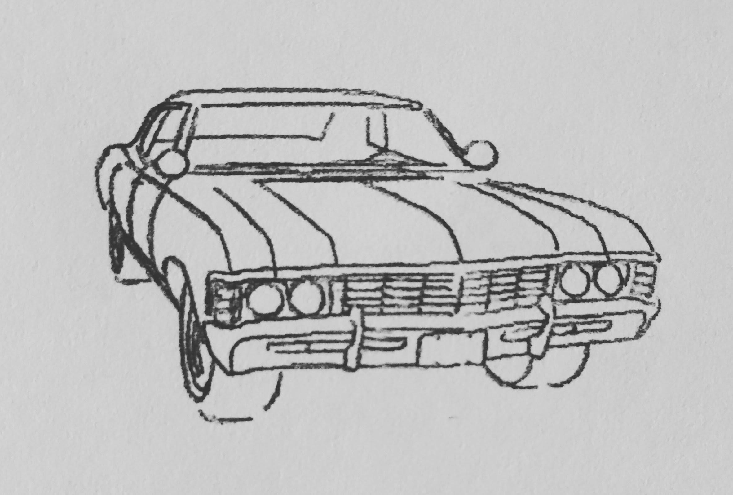 Impala Sketch At Paintingvalley