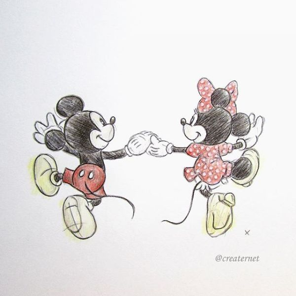 minnie mouse zeichnen # 65