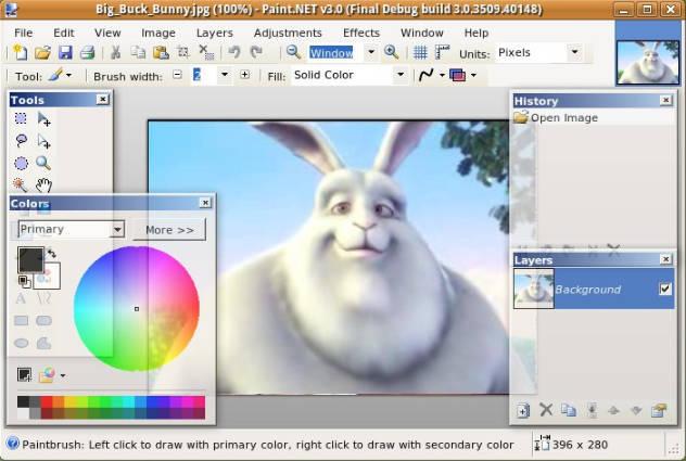 un'alternativa a dipingere sotto Linux