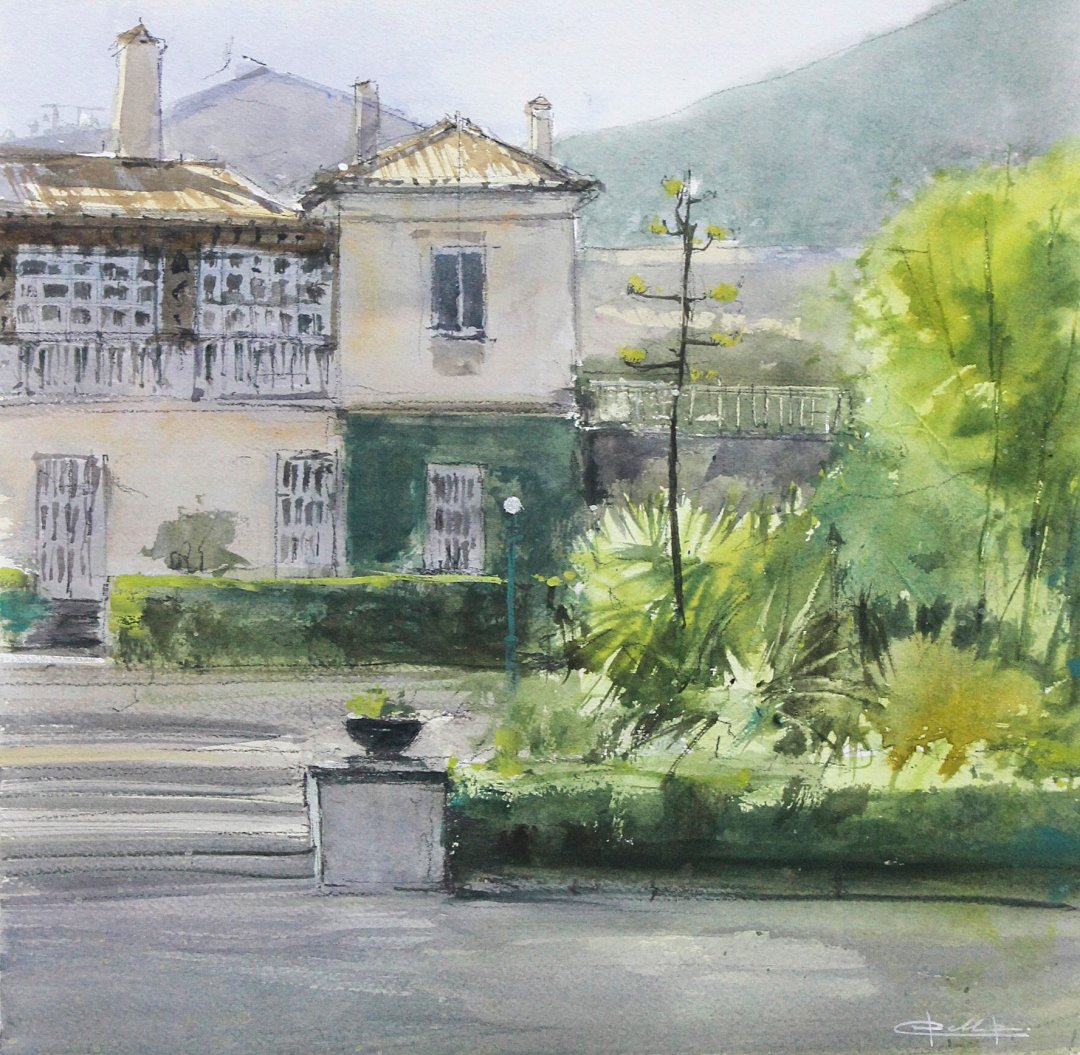 watercolor painting by Pablo Ruben