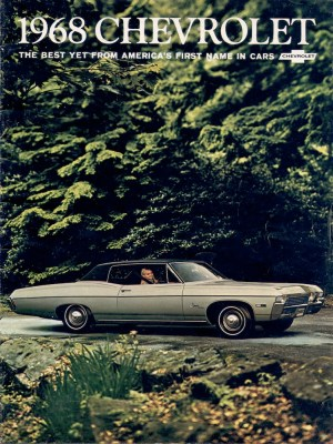 GM 1968 Chevrolet Sales Brochure
