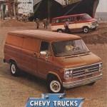 Gm 1980 Chevy Van Chevy Truck Sales Brochure