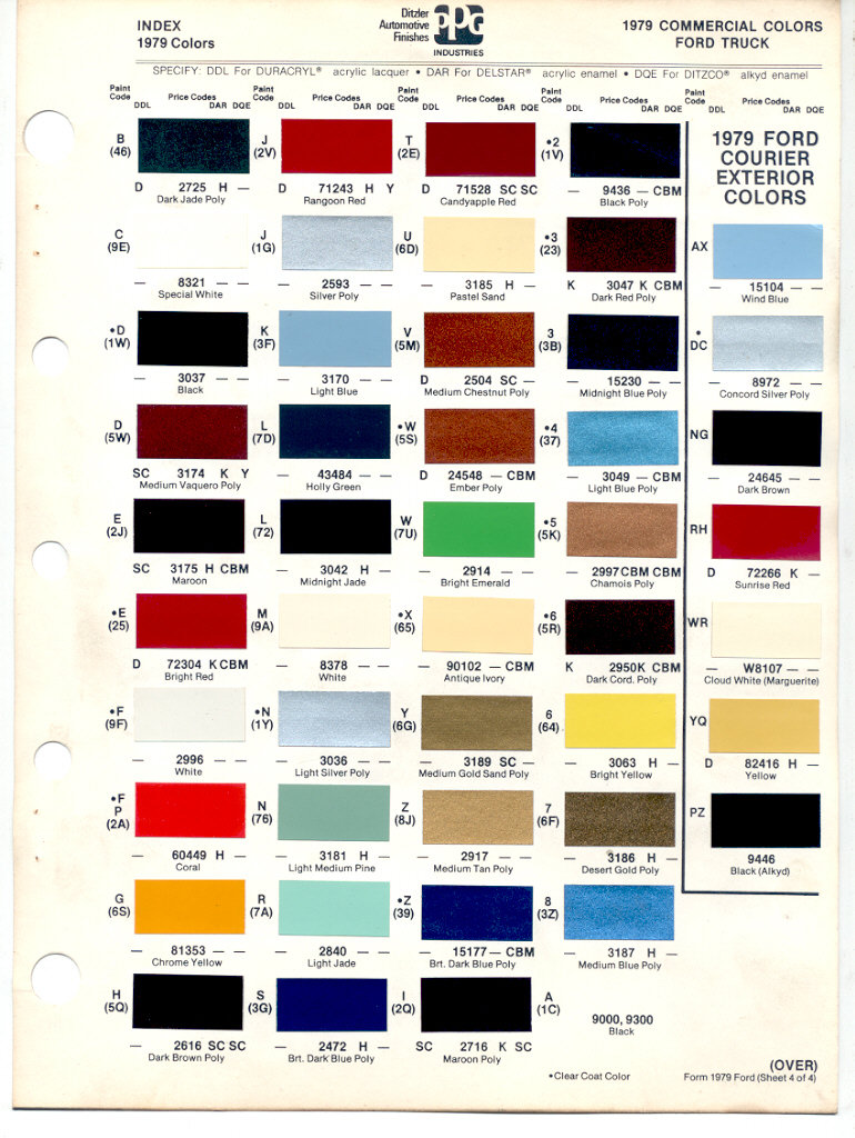 1996 Ford Interior Color Codes 1979 Bronco Wiring Diagram Http Wwwsupermotorsnet Registry Media Paint Colors Truck Enthusiasts Forums
