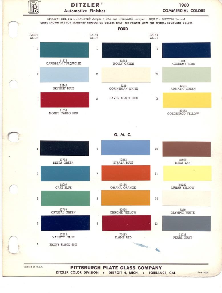 Ppg Paint Color Chart Online