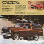 1980 Bronco Ford Truck Sales Brochure