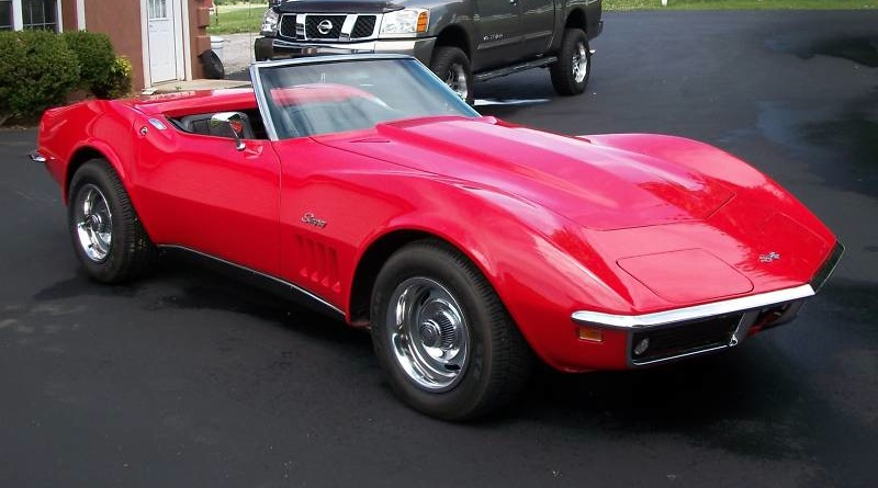 Corvette 1969 Codes Color