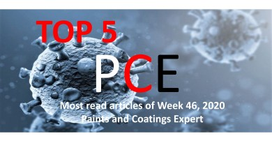 Top 5 Most read articles of Week 46, 2020 on Paints and Coatings Expert