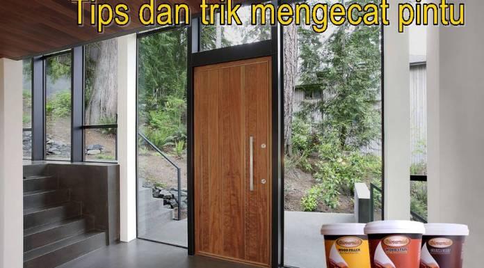 tips dan trik mengecat pintu menggunakan biovarnish