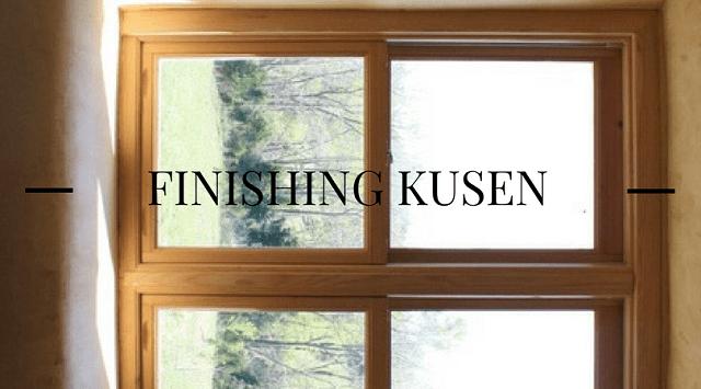 Cara Finishing Kusen Menggunakan Kuas