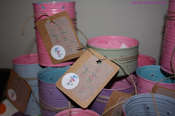 How To Make Tin Can Lanterns