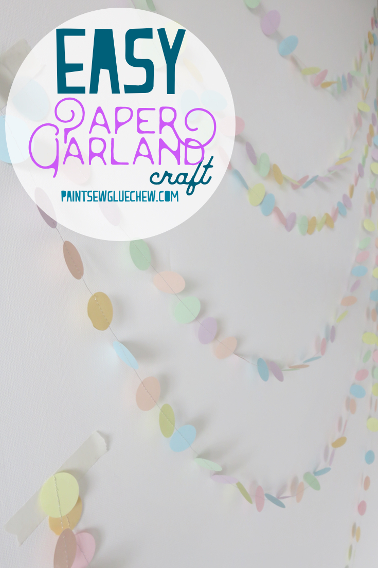 Paper Garland Craft