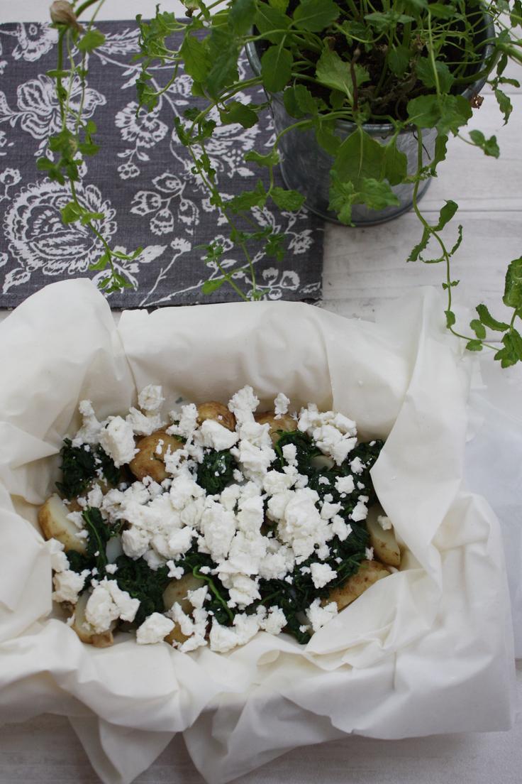 feta filo pie spinach and mint