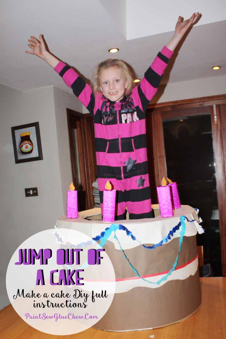 Girl Jumping Out Of A Cake