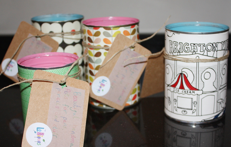 Tin Can Organiser Craft