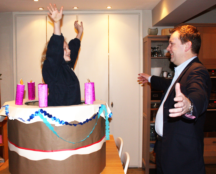 Jump Out Of a Cake
