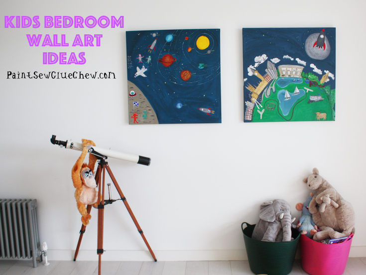 Kids Wall Art Ideas