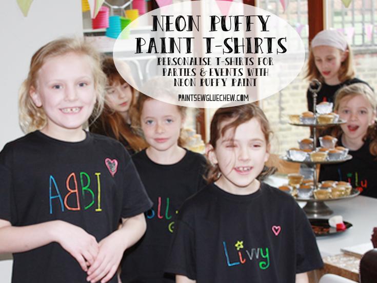 Puffy Paint T-shirt