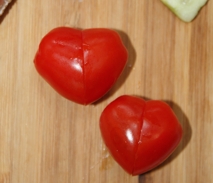 Heart Shaped Lunch