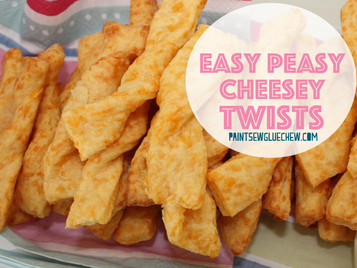 Easy Peasy Cheese Twists