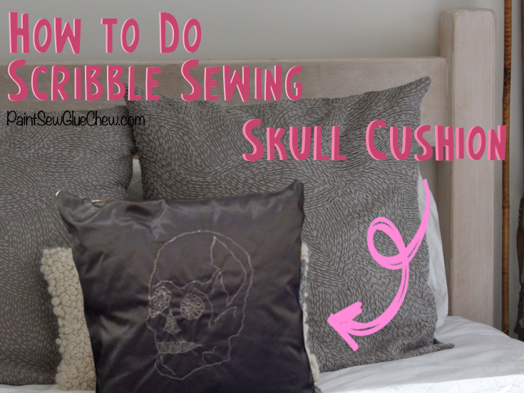 How to do Scribble Sewing