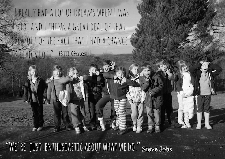 """""""We're just enthusiastic about what we do"""" Steve Jobs"""