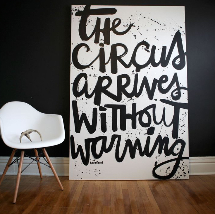 Circus Art Ideas kalbarteski