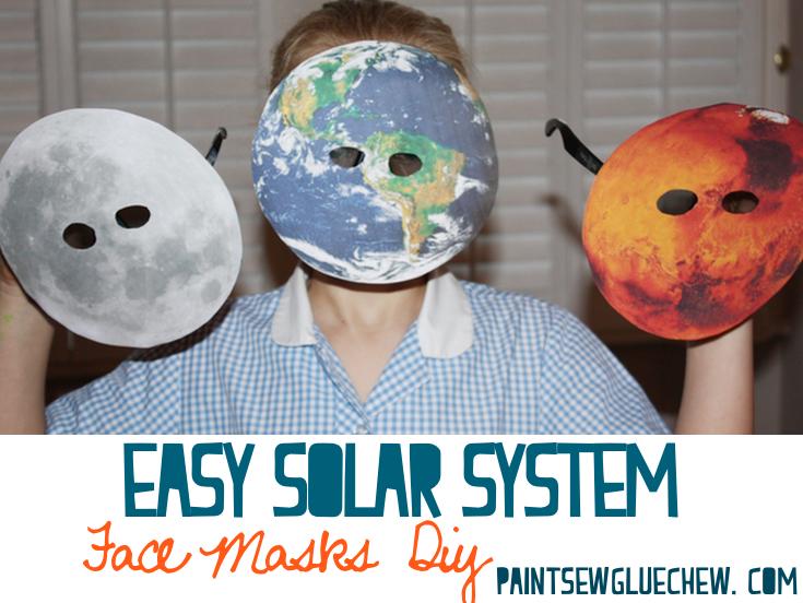 Solar System Face Masks