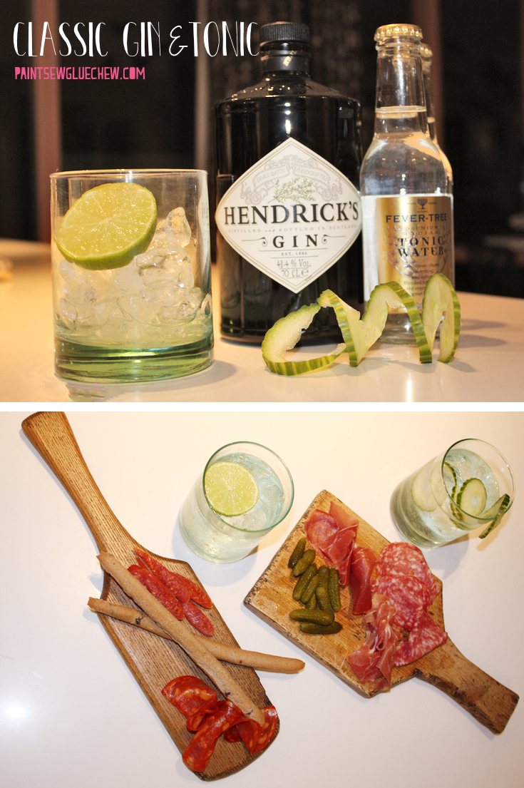 Gin and Tonic - Hendricks and Fever Tree