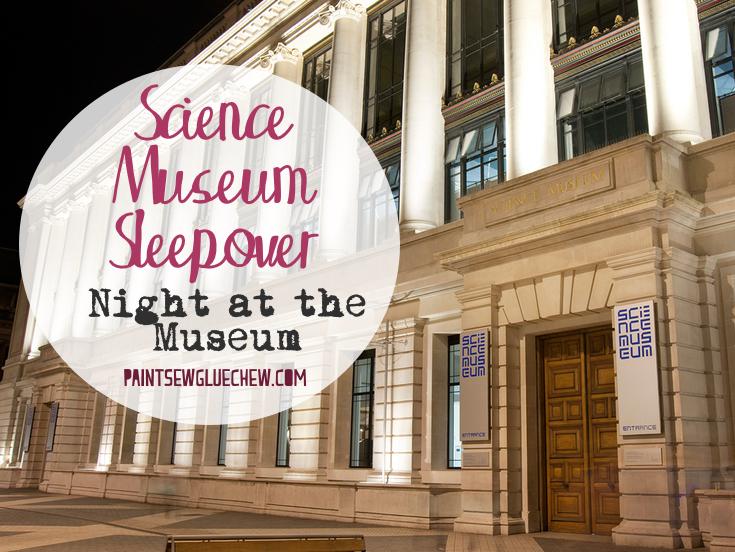 London Science Museum Sleepover