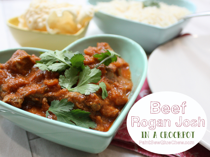 Rogan Josh Slow Cooker Recipe