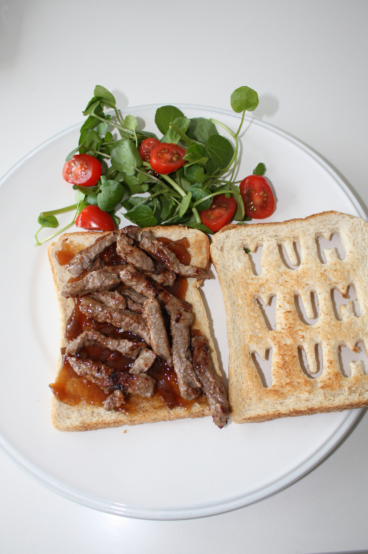 Personalised Steak Sandwich