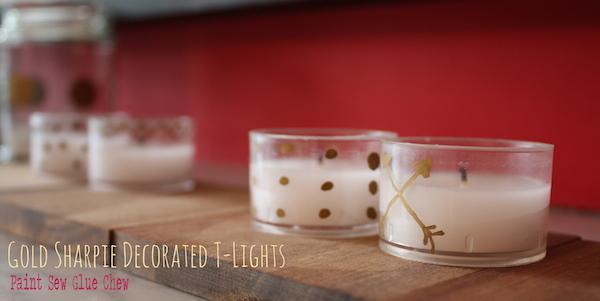 Tea light decorations