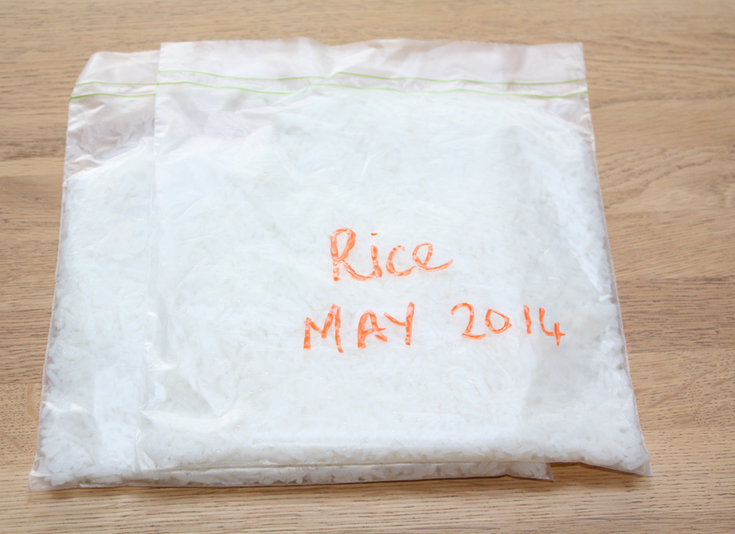 How to freeze Rice Safely
