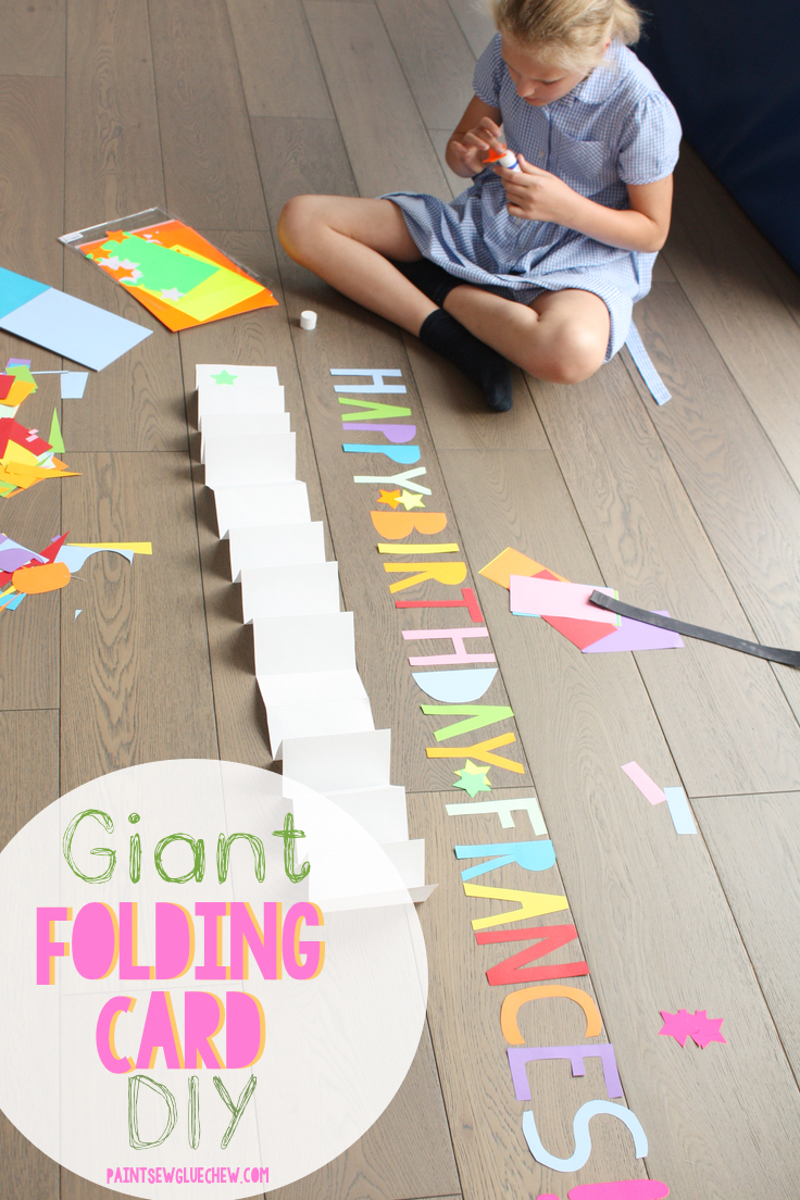 Giant Folding Card