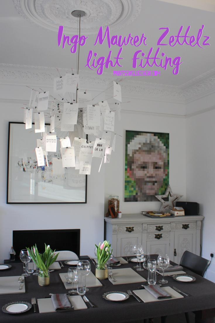 Ingo Maurer Zettel'z Light