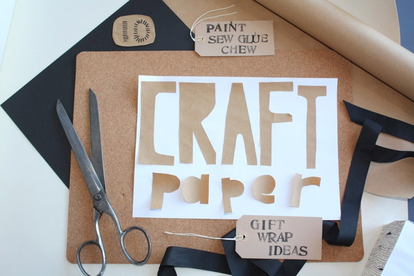 Craft Paper Gift Wrap ideas