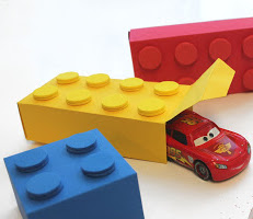Gift Wrap ideas for kids Lego Gift Box