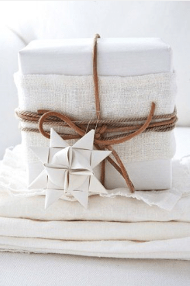 fabric Gift wrap ideas