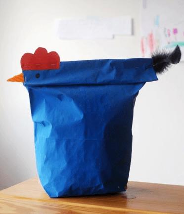 Chicken Gift wrap idea
