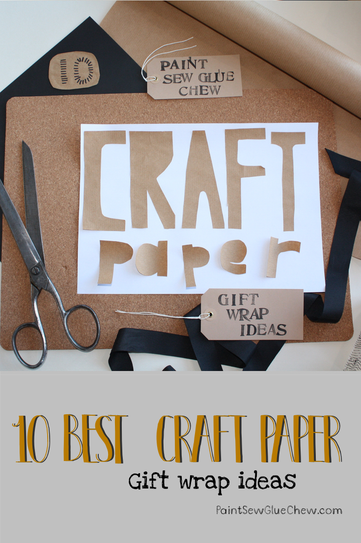 Gift Wrap Ideas (6): Craft Paper