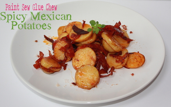 Mexican spicy potatos