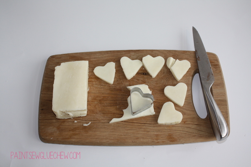 Halloumi and Beetroot Hearts