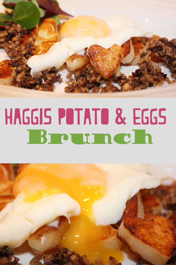 Haggis Brunch with Sauté Potatoes