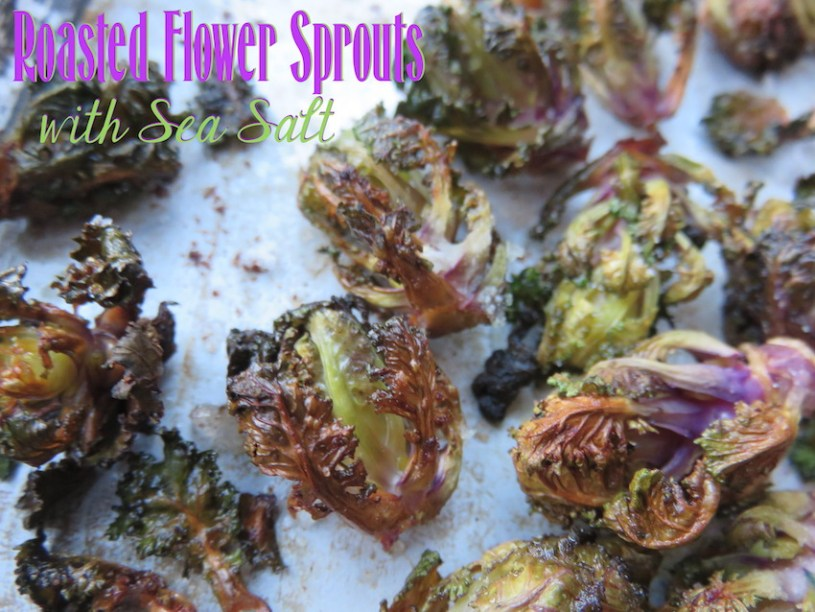 roasted flower sprouts