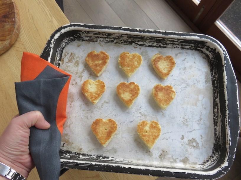brioche toasted hearts