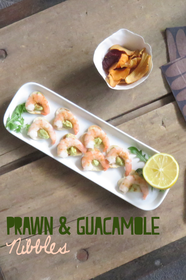 Prawn and Guacamole Nibbles