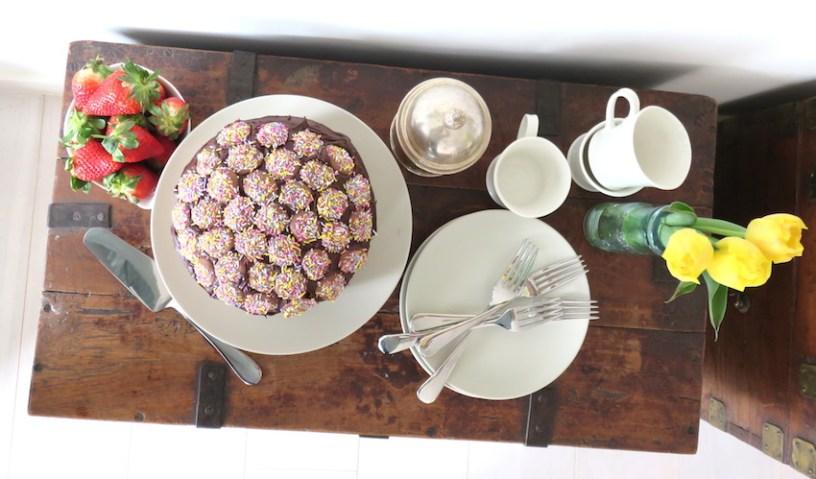 Homemade Jazzie cake decorations