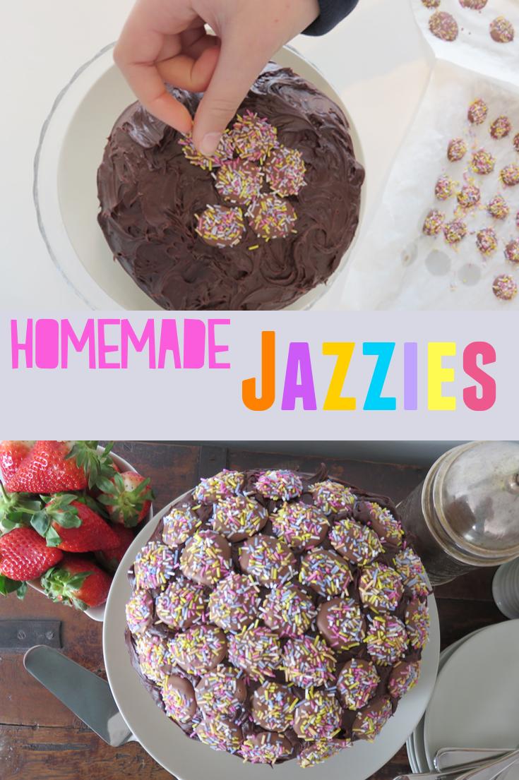Homemade Chocolate Jazzies