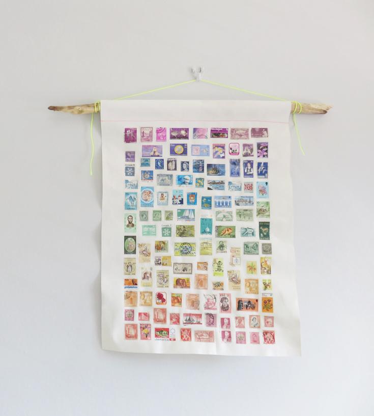 Rainbow stamp artwork 13